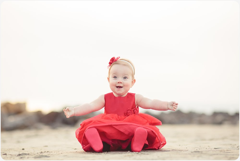 Baby Girl | San Diego Beach Photographer