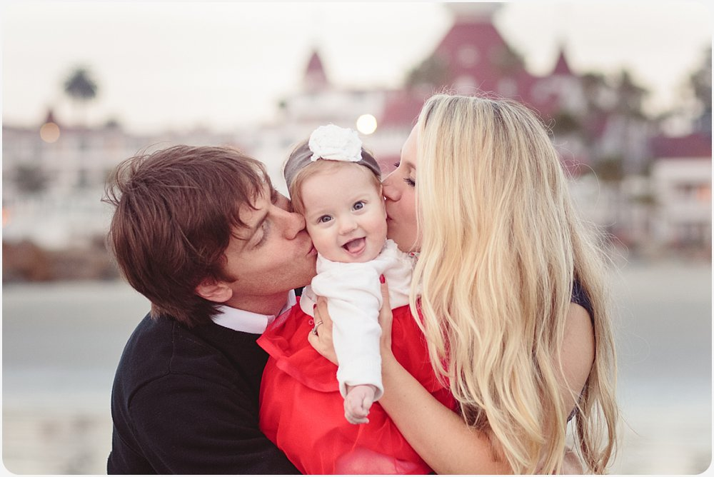 Hotel del Coronado Family Photography | San Diego Beach Photographer