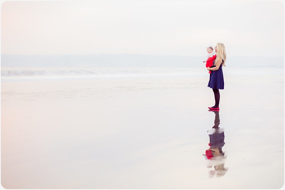 Mother and Child | San Diego Beach Photographer