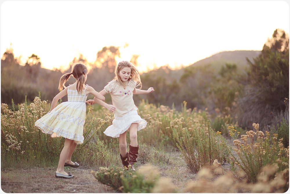 Cousins Dancing | San Diego Photography
