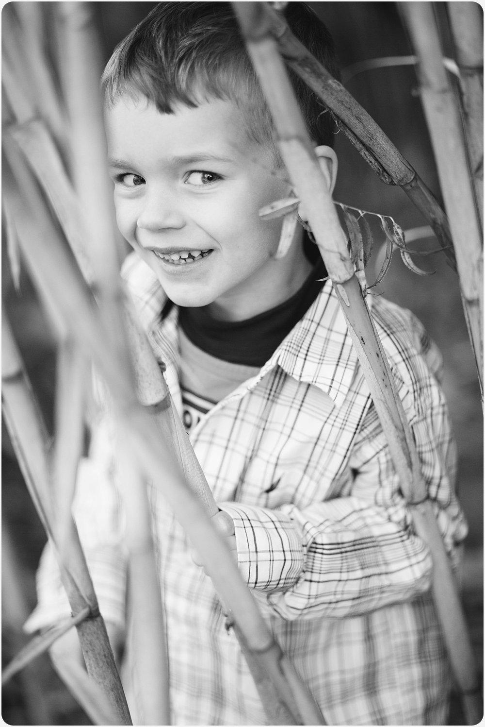 Peek-a-bamboo | San Diego Child Photographer