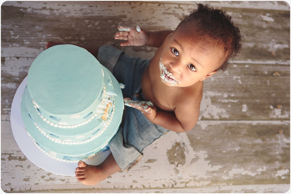 Cake Smash | San Diego Photographer