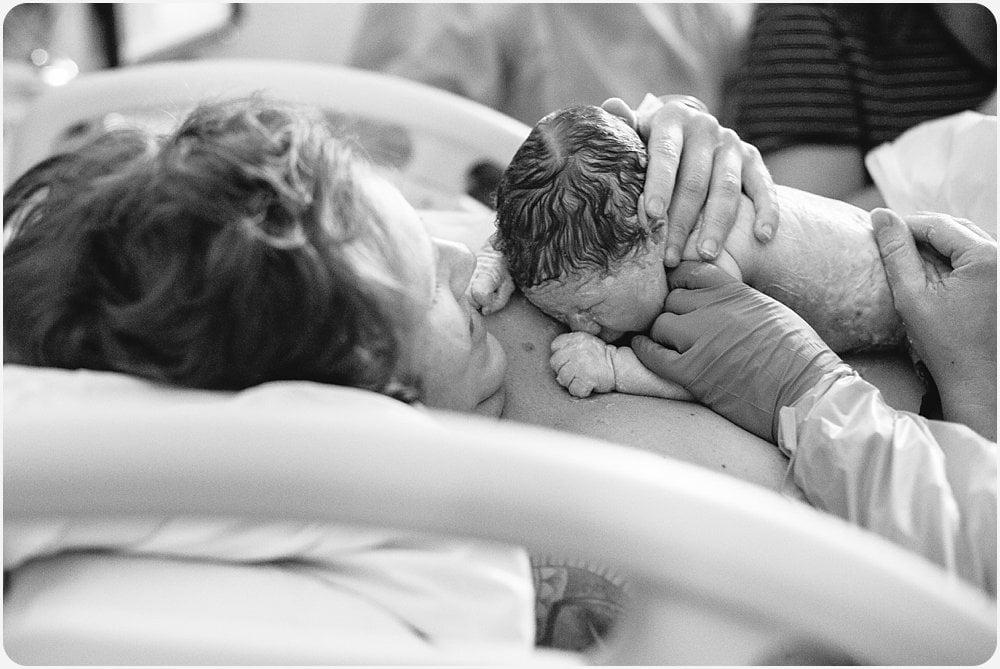 Grossmont Hospital Birth | San Diego Birth Photography