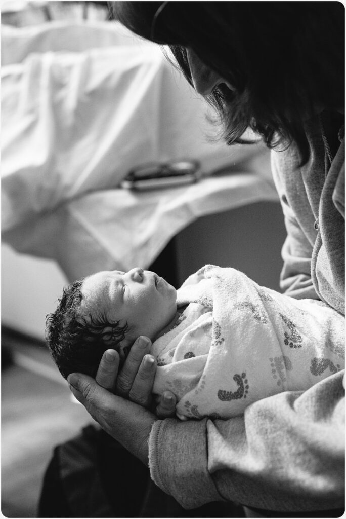 Photography of San Diego Hospital Birth