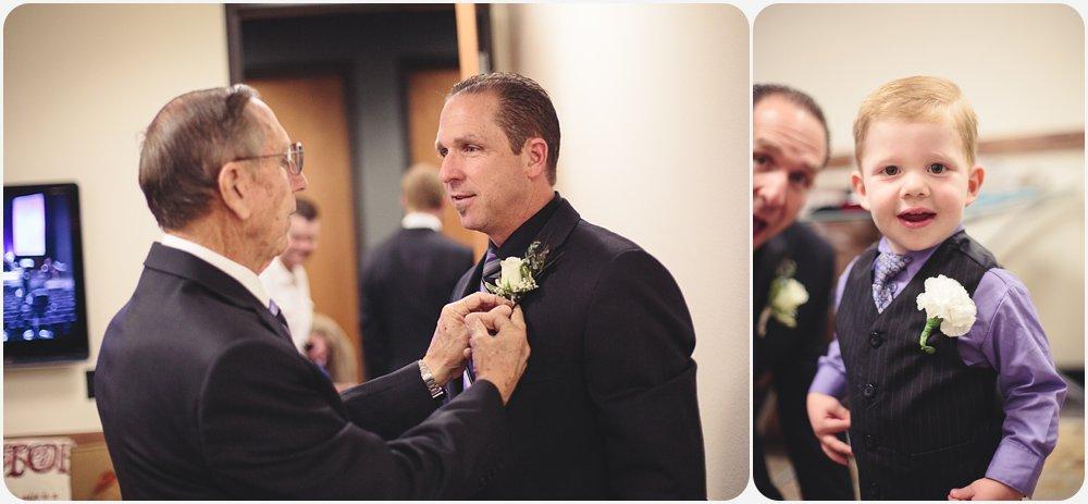 Groom & Ring Bearer   San Diego Wedding Photographer
