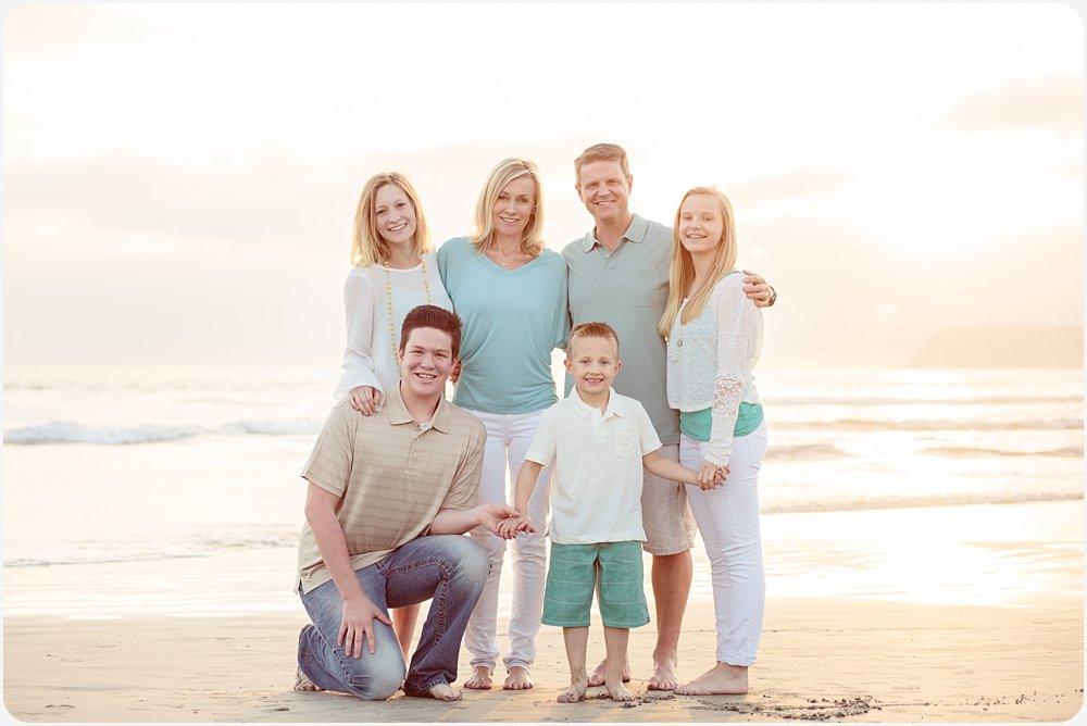 Family Beach Portraits | Hotel del Coronado