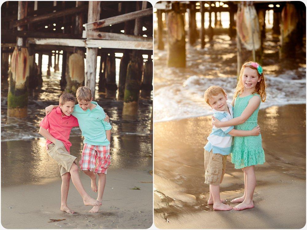 Cousins at the Beach | San Diego Beach Photographer
