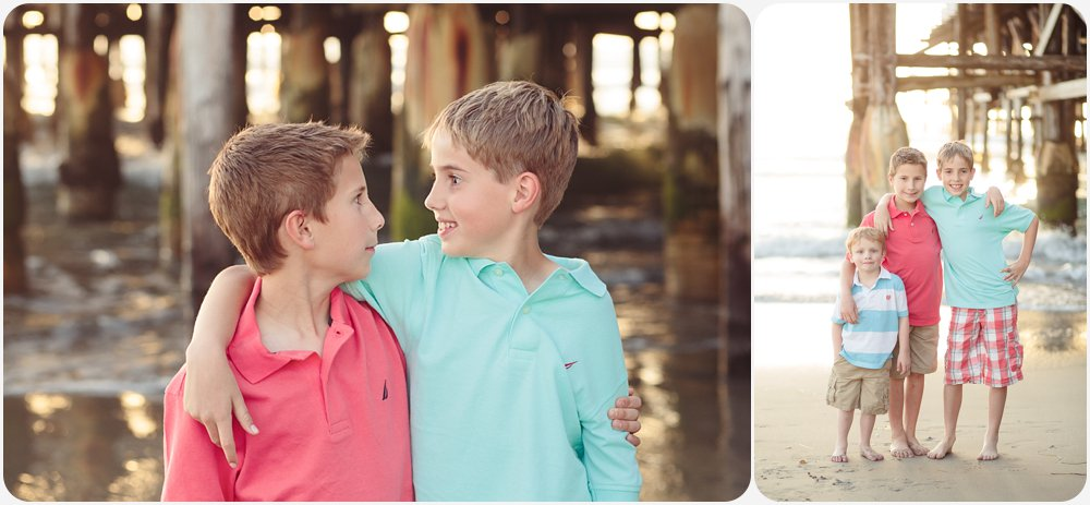 Boys at the Beach | San Diego Beach Photographer