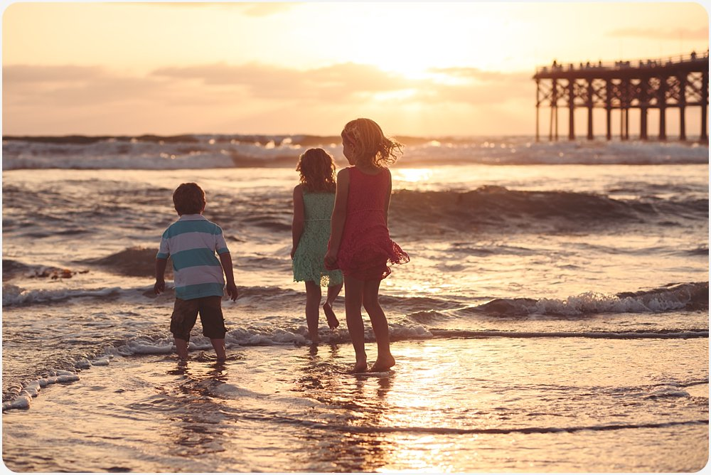 Jumping the Waves | San Diego Beach Photographer