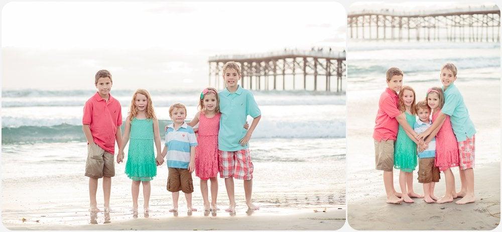 Cousin Fun | San Diego Beach Photographer