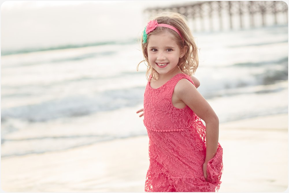 Playing in the Waves | San Diego Beach Photographer