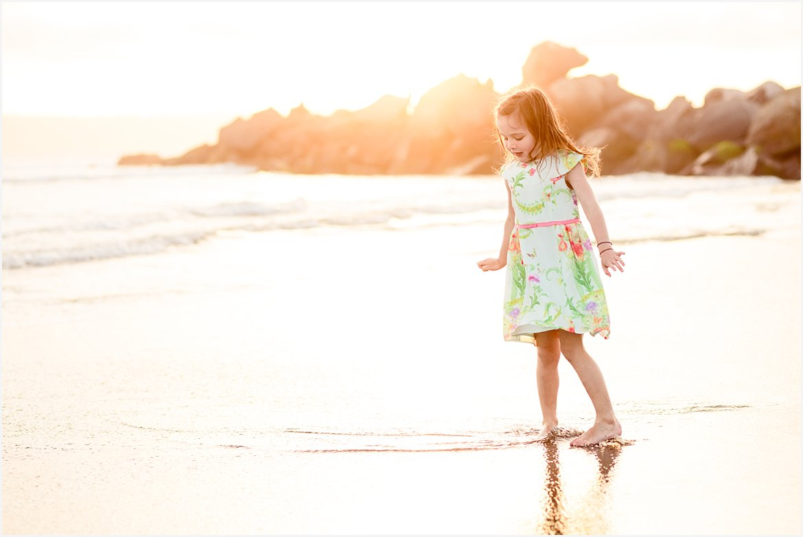 Playing in the Waves | San Diego Family Photography