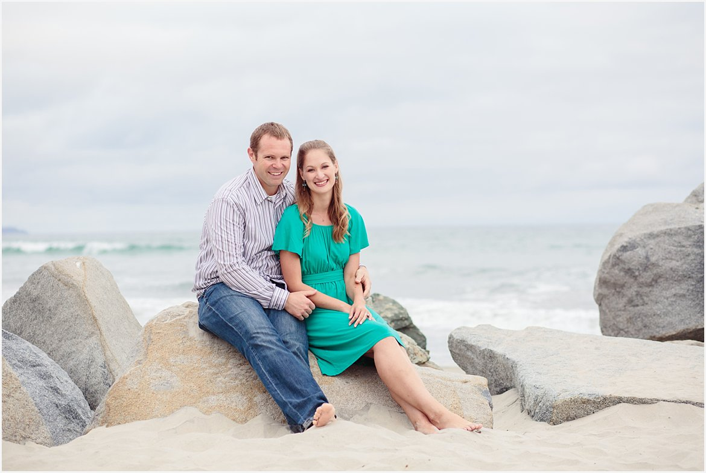 Engagement on Coronado   San Diego Beach Photography