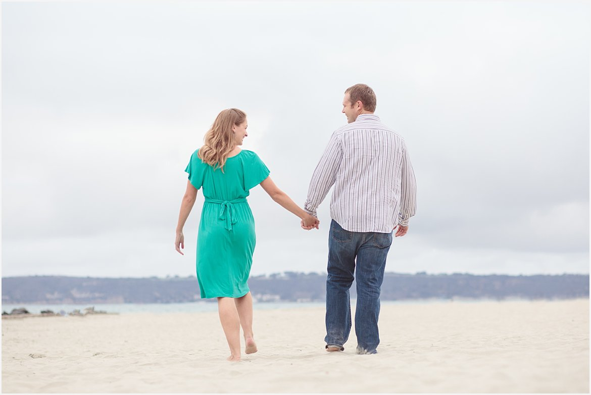 Hand in Hand | San Diego Beach Photography