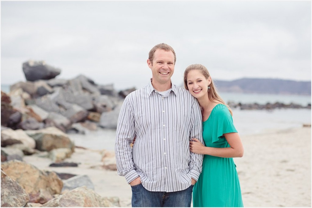 San Diego Beach Engagement Photography