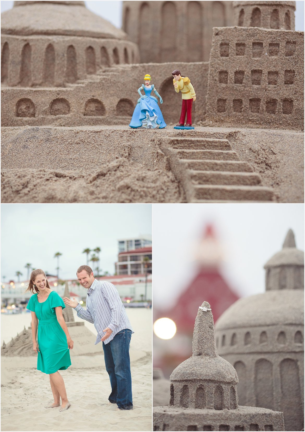Sandcastle Man Coronado| Beach Photography in San Diego
