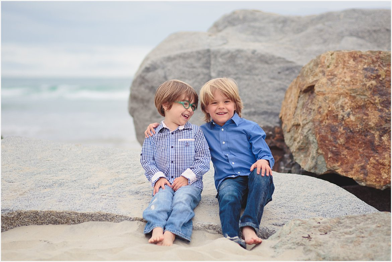 Brothers | Coronado Beach Photos