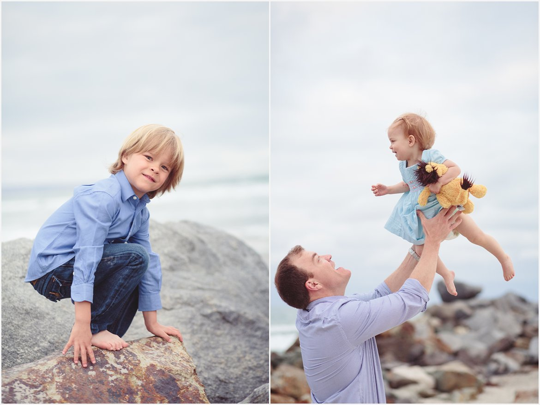 Playing on the Beach | Coronado Beach Photos