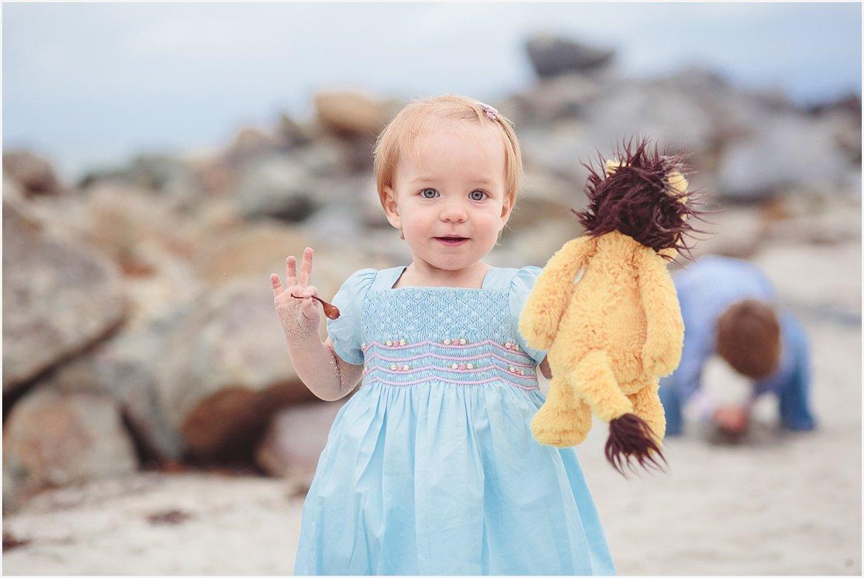 Baby with Lovey | Coronado Beach Photographer