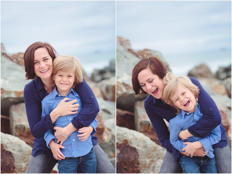 Mother and Son | Coronado Beach Photographer