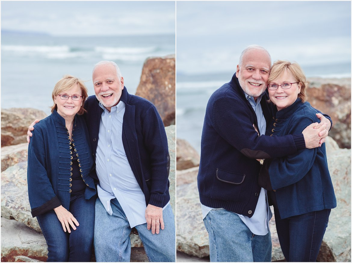 Grandparents | San Diego Beach Photography