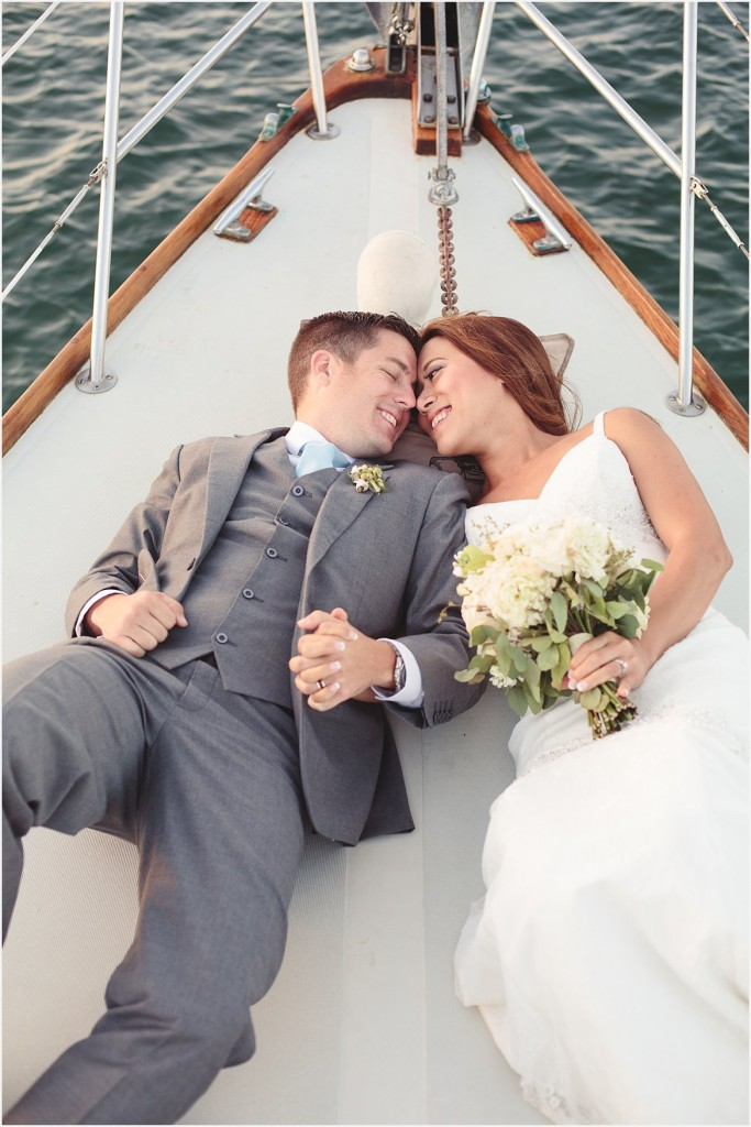 Photos on a Sailboat