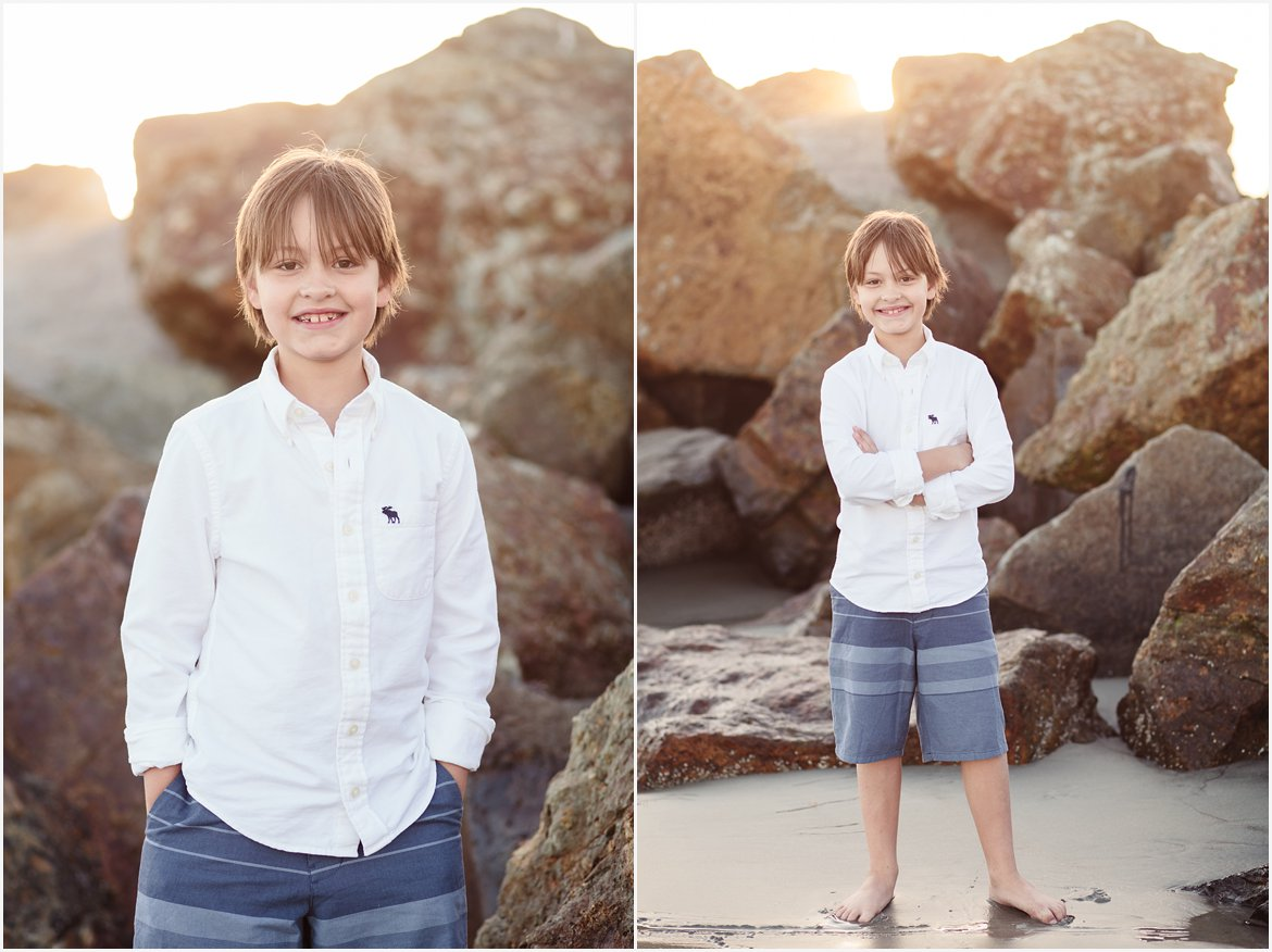 Boy on the Beach | San Diego Family Photography