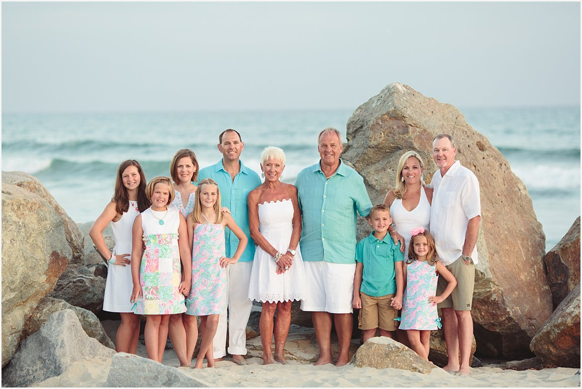 Extended Family Photographer San Diego