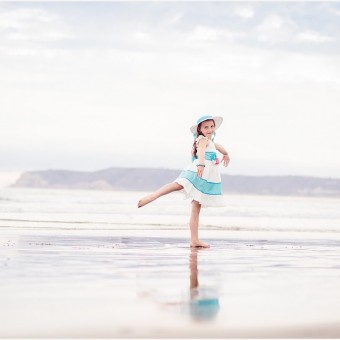 Family Beach Photography | Hotel del Coronado