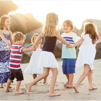 Cousins on Coronado | Family Photographer San Diego
