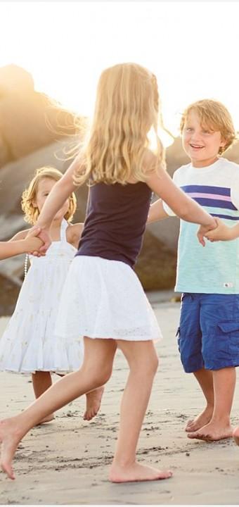 Cousins on Coronado   Family Photographer San Diego