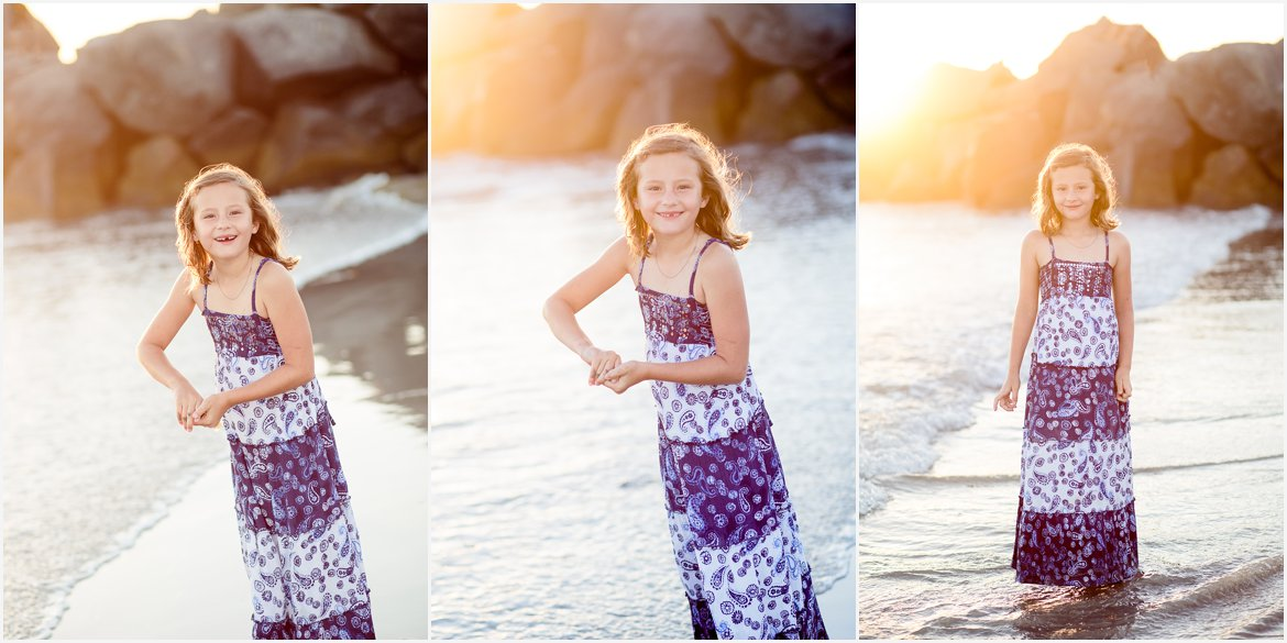 Girl at Sunset | San Diego Family Photographer