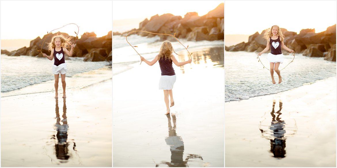 Seaweed Jumprope | Family Photographer San Diego