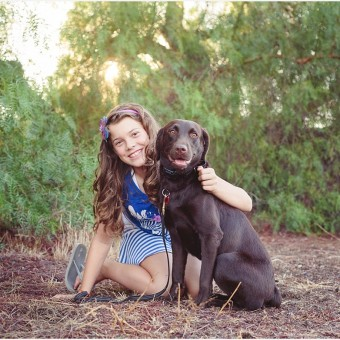 Rylee & Lucy | Diabetic Service Dog