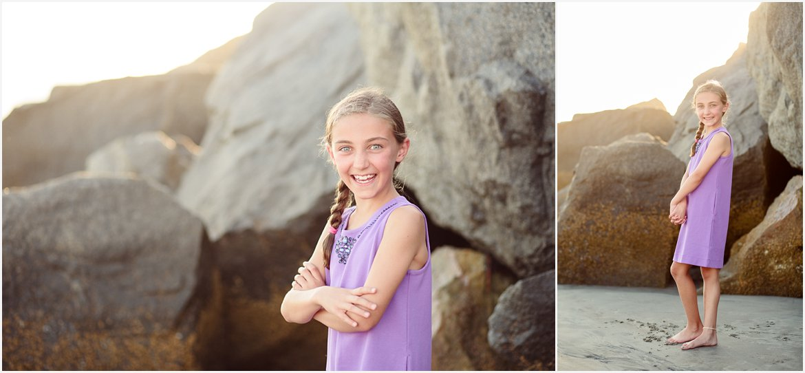 Girls on the Beach | San Diego Child Beach Photographer