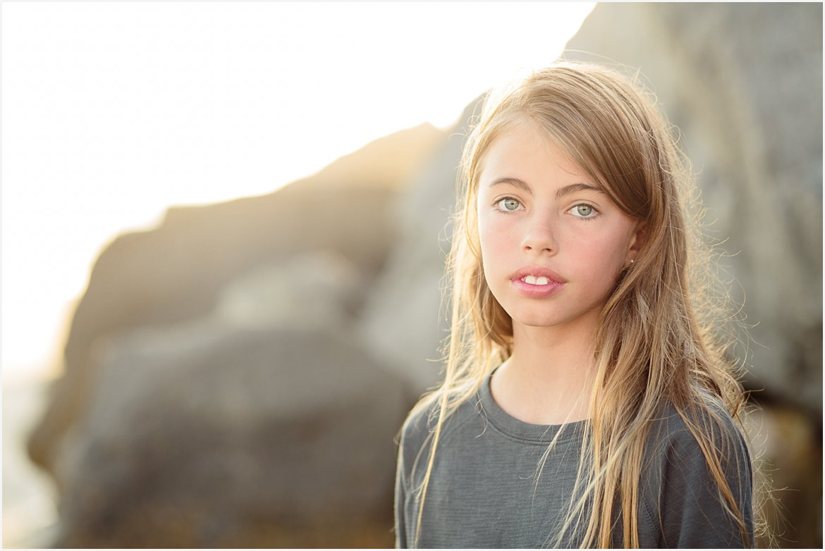 Child Headshots | San Diego Child Beach Photographer