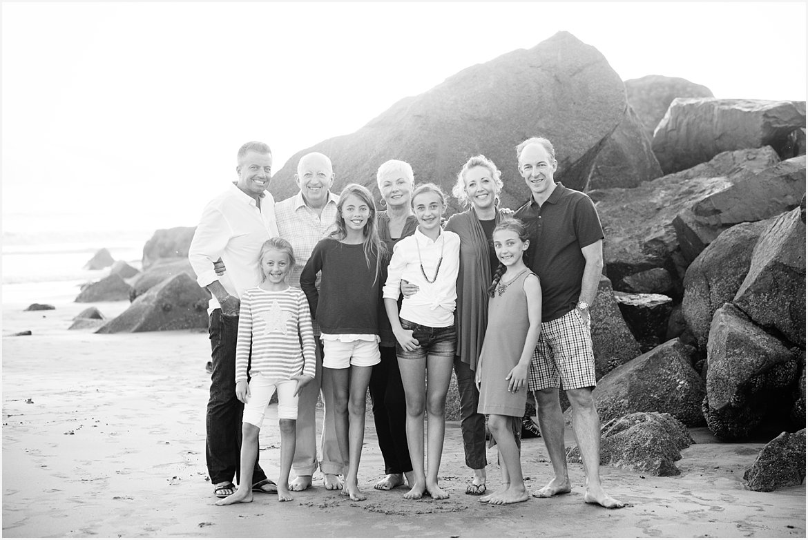Extended Family | San Diego Beach Photography