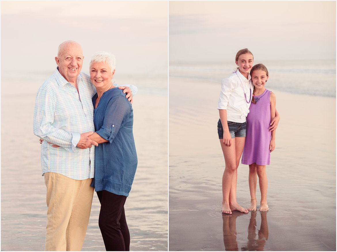 Grandparents and Cousins | San Diego Beach Photographer