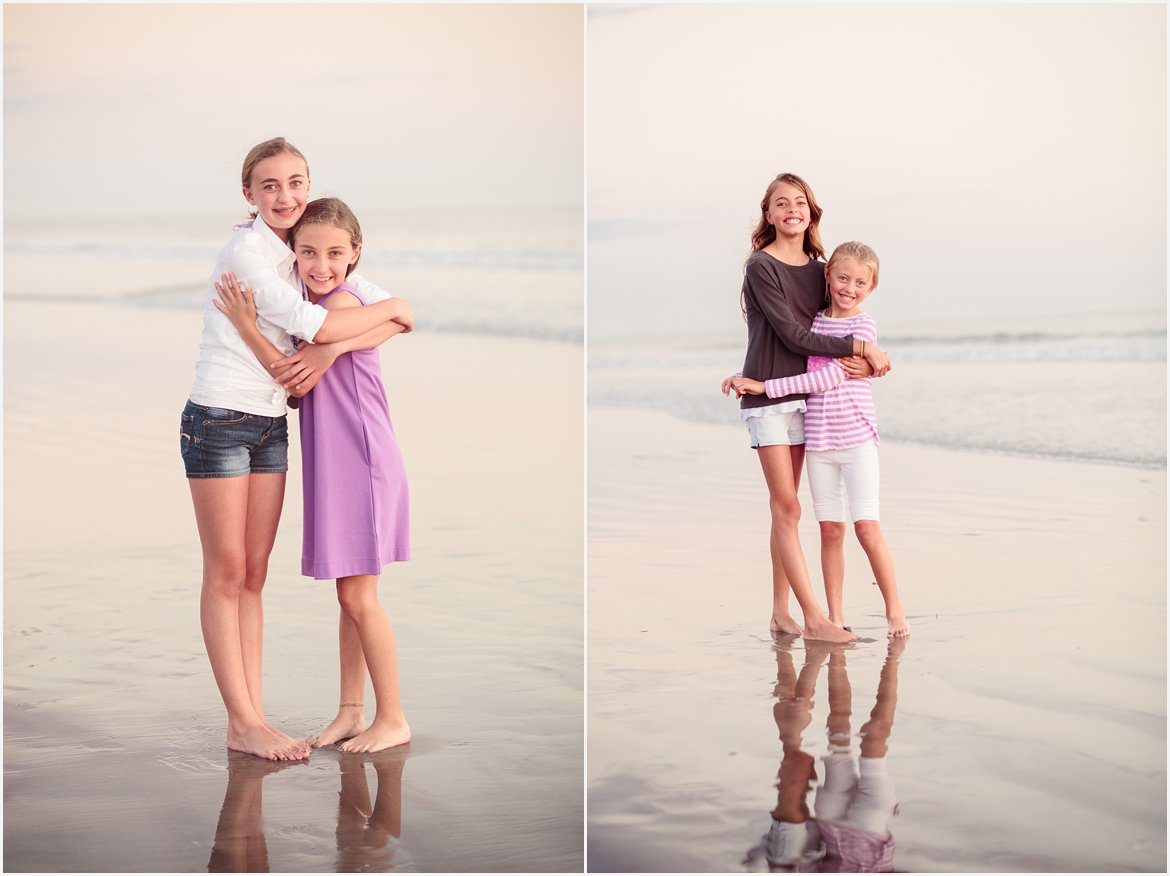 Sisters | San Diego Beach Photographer