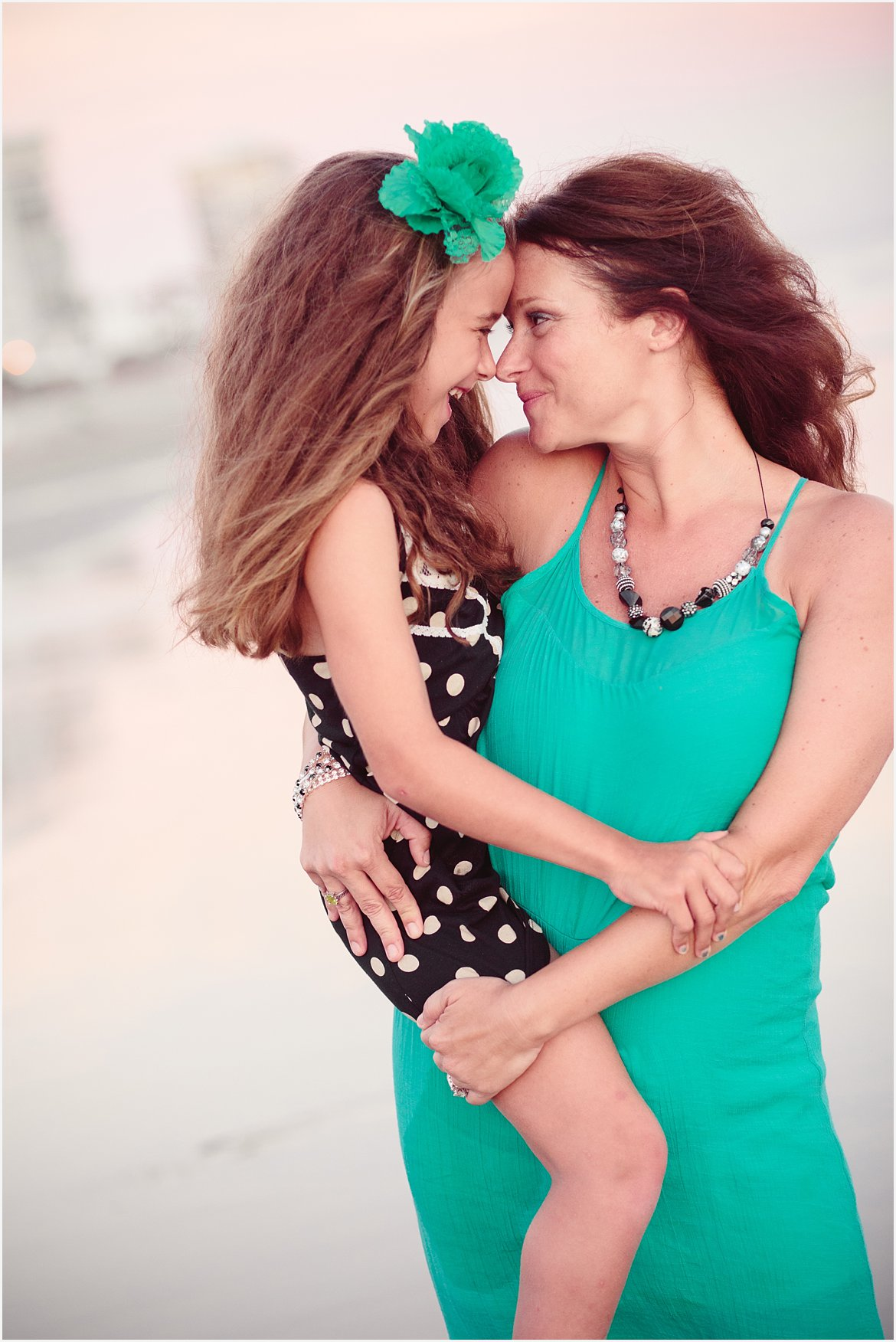 Mother and Daughter | San Diego Beach Photographer