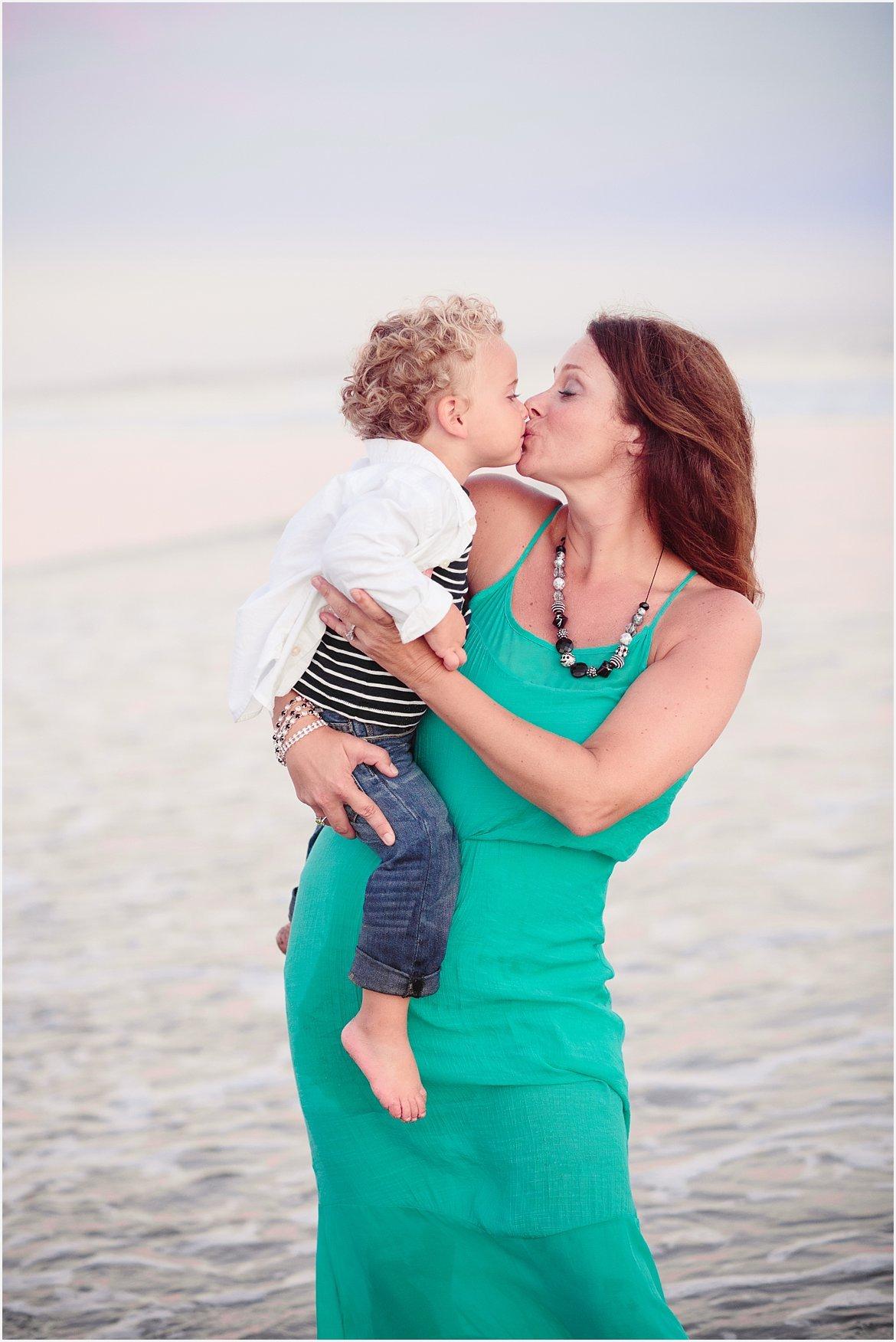 Mother and Son | San Diego Beach Photographer