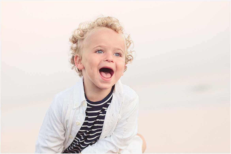 Toddler on the Beach | San Diego Beach Photographer