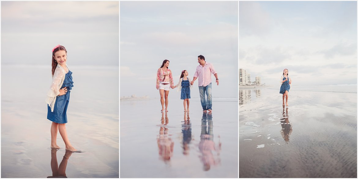Family on Beach | San Diego Beach Photographer