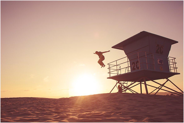 Lifeguard Tower | San Diego Child Photographer