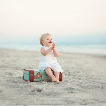 Beach Baby | San Diego Child & Family Photography
