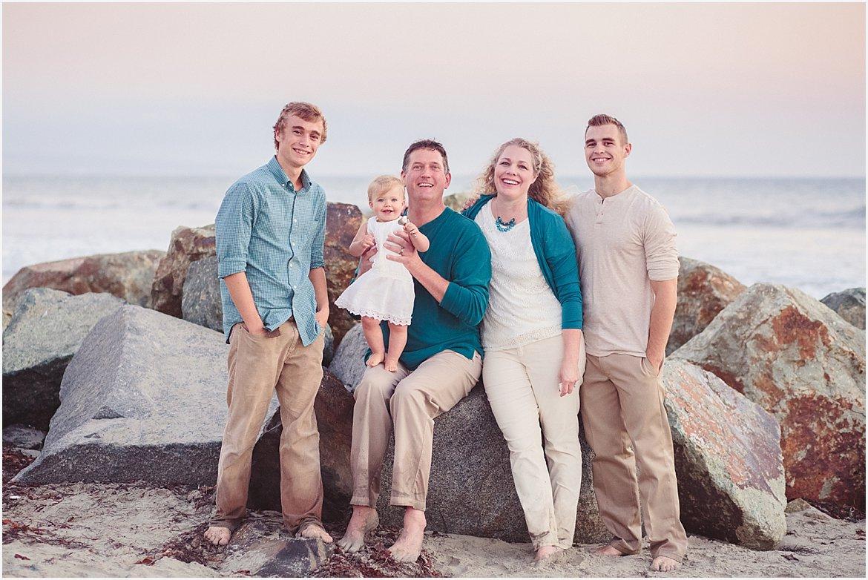 San Diego Family Beach Photos | Amy Gray Photography