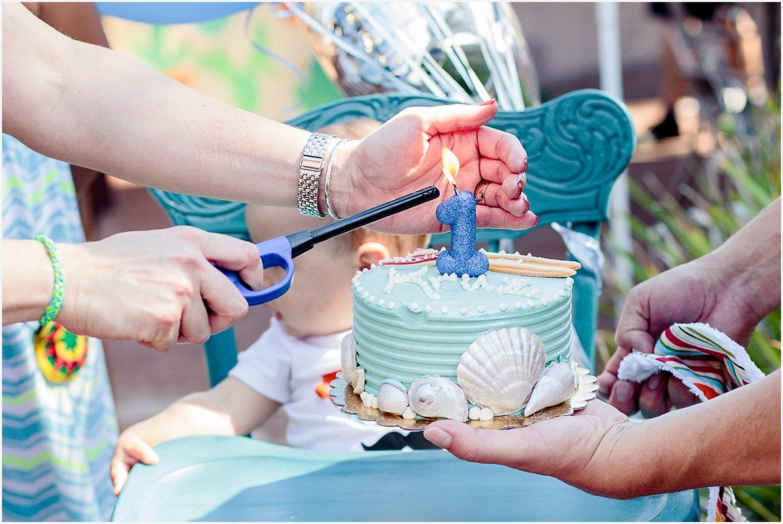 Birthday Party Photography   San Diego First Birthday