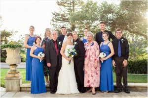 Point Loma Extended Family Wedding Photo
