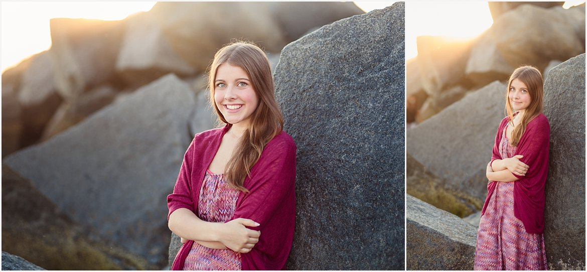 San Diego Senior Portrait Photographer | Beach Photos San Diego