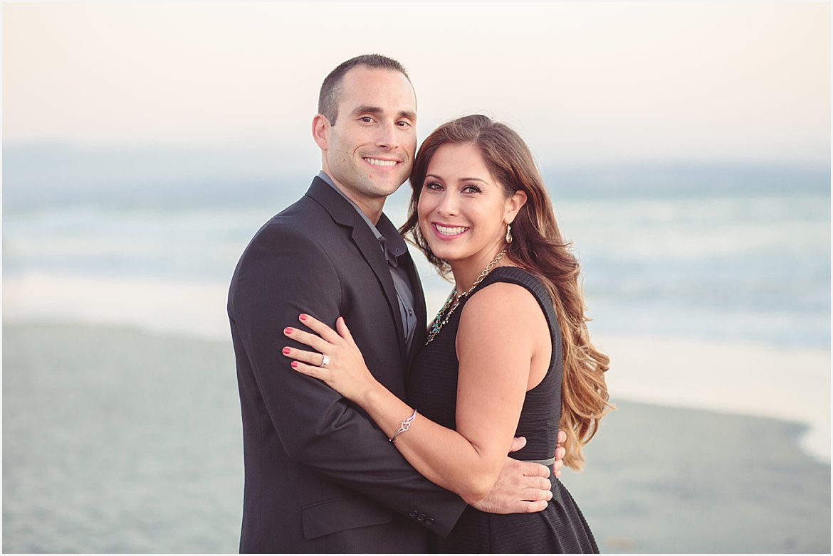 San Diego Engagement Beach Portraits